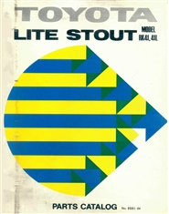 RK41 Lite Stout Parts Manual cover image