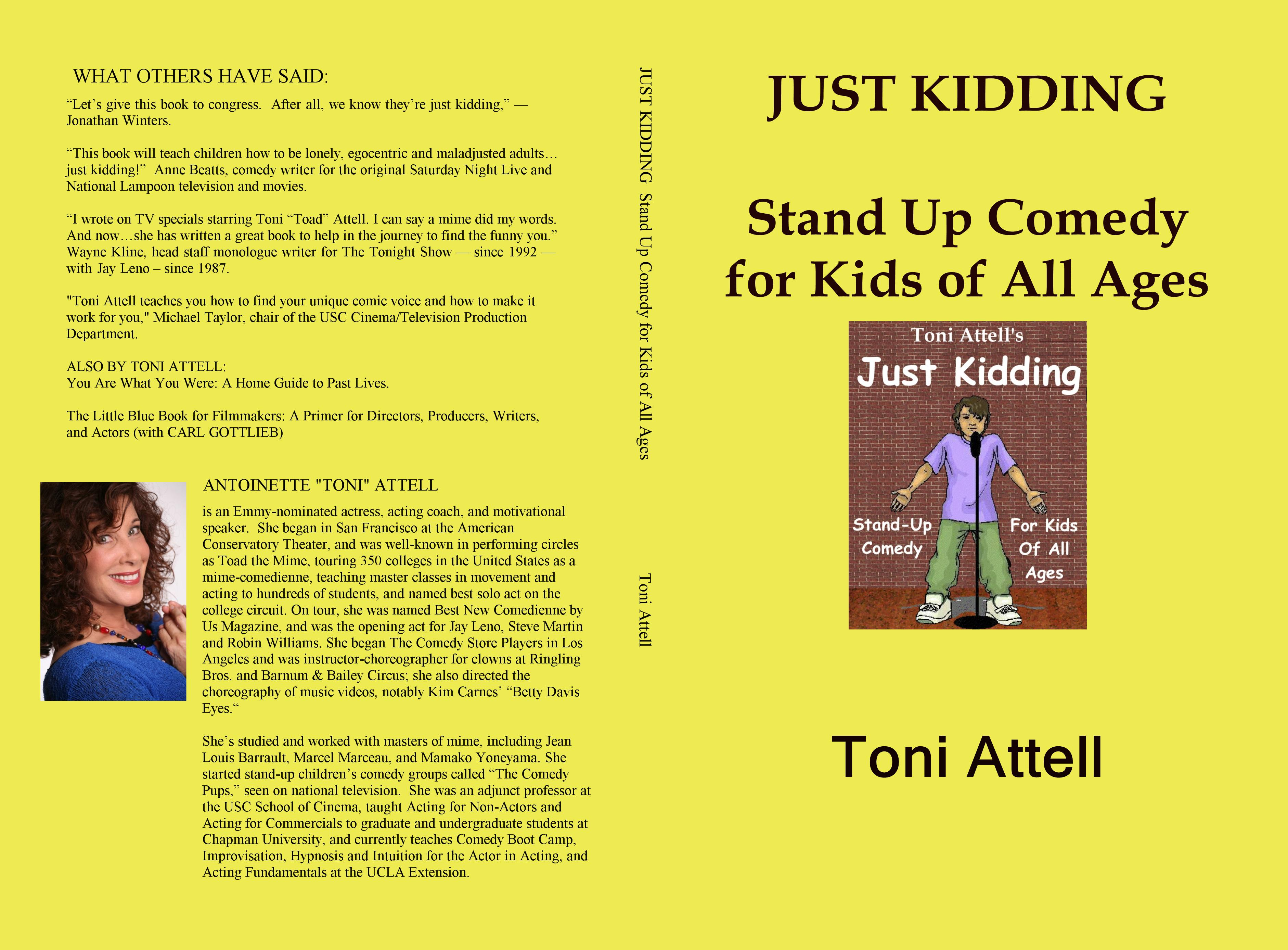 ... JUST KIDDING Stand Up Comedy for Kids of All Ages cover image