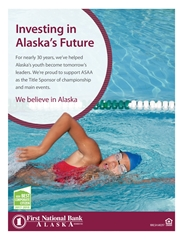 2018 ASAA/First National Bank Alaska Swim & Dive State Championships Program cover image