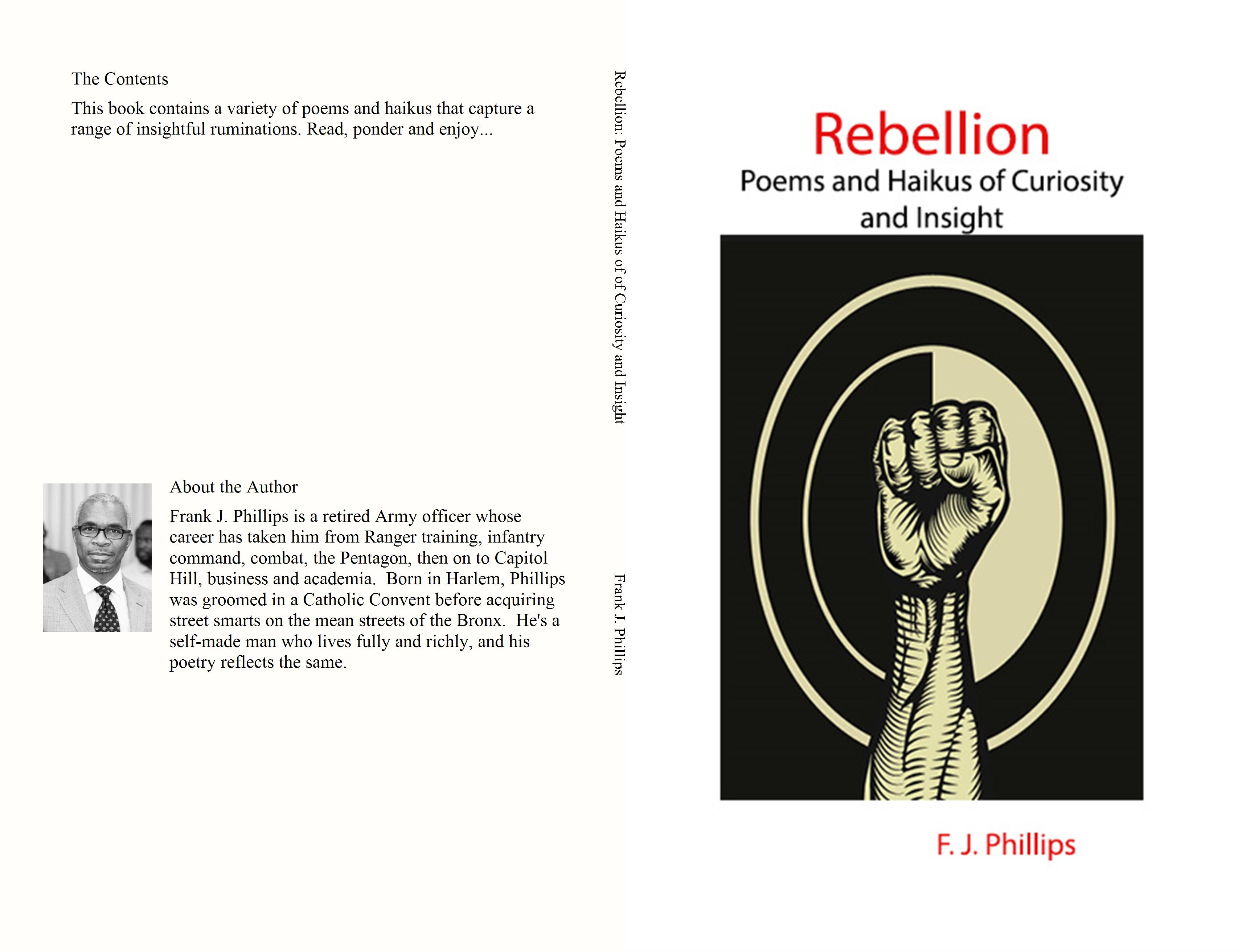 Rebellion: Poems and Haikus of of Curiosity and Insight cover image