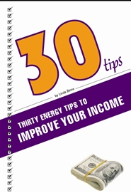 Energy Tips to Improve Your Income cover image