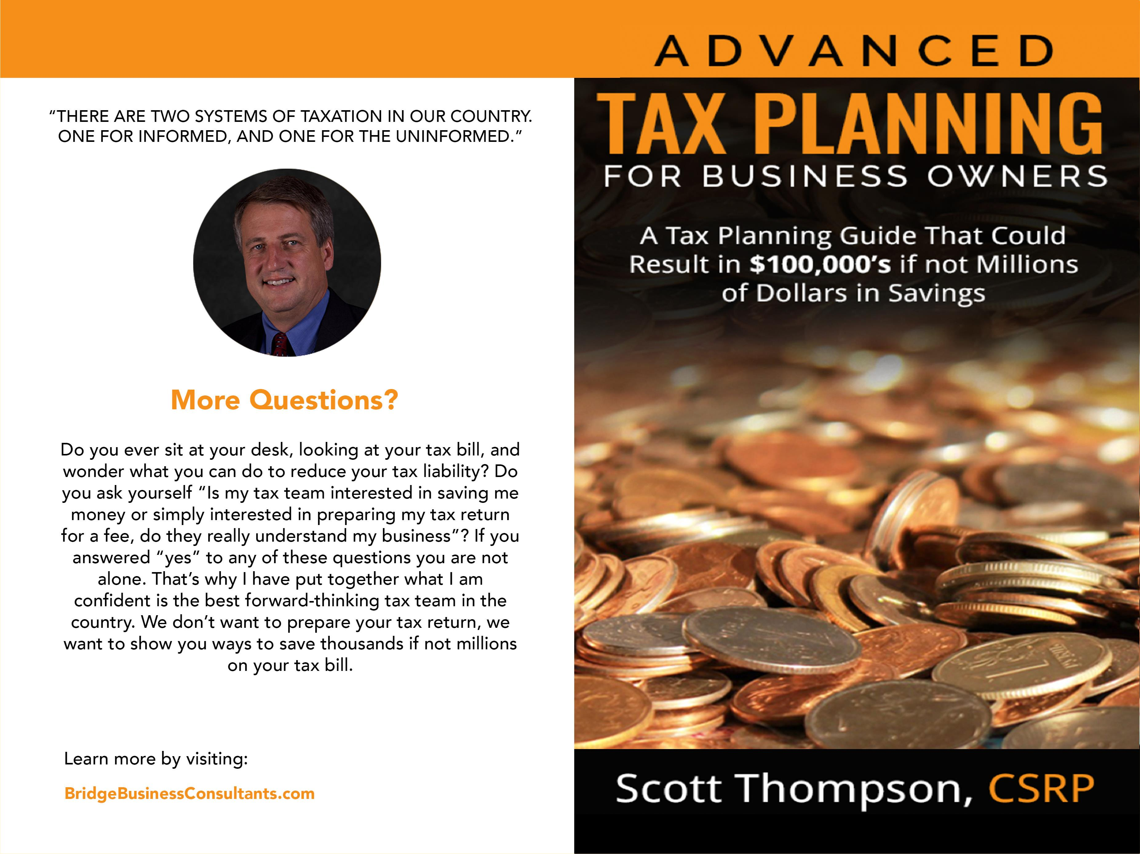 Advanced Tax Planning for Business Owners cover image