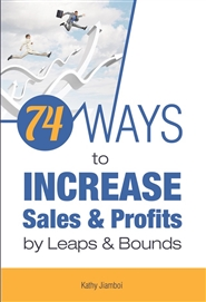 74 Ways to Increase Sales and Profits cover image