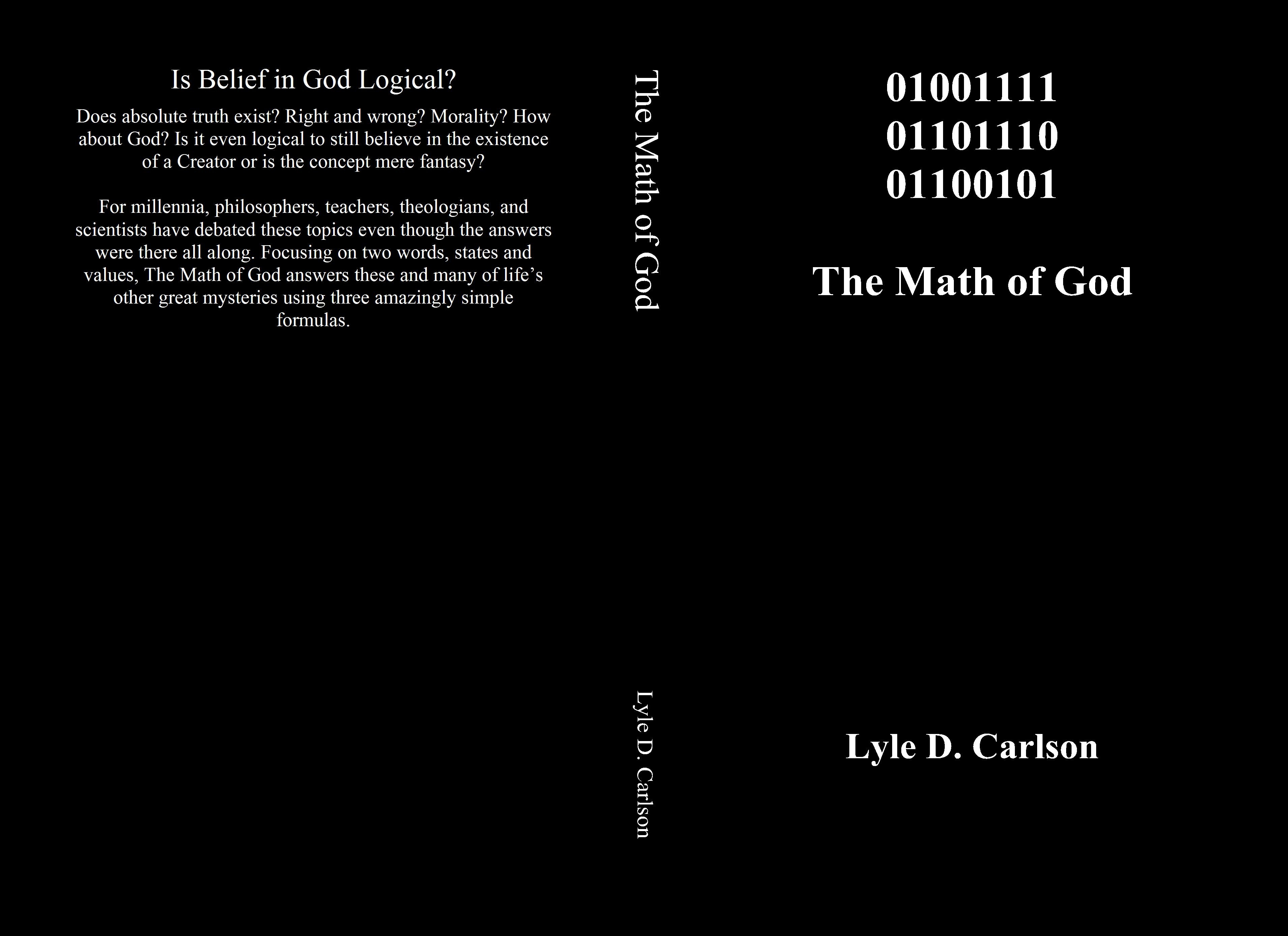 01001111 01101110 01100101 The Math of God cover image