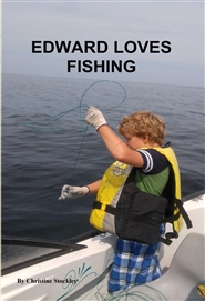 EDWARD LOVES FISHING cover image