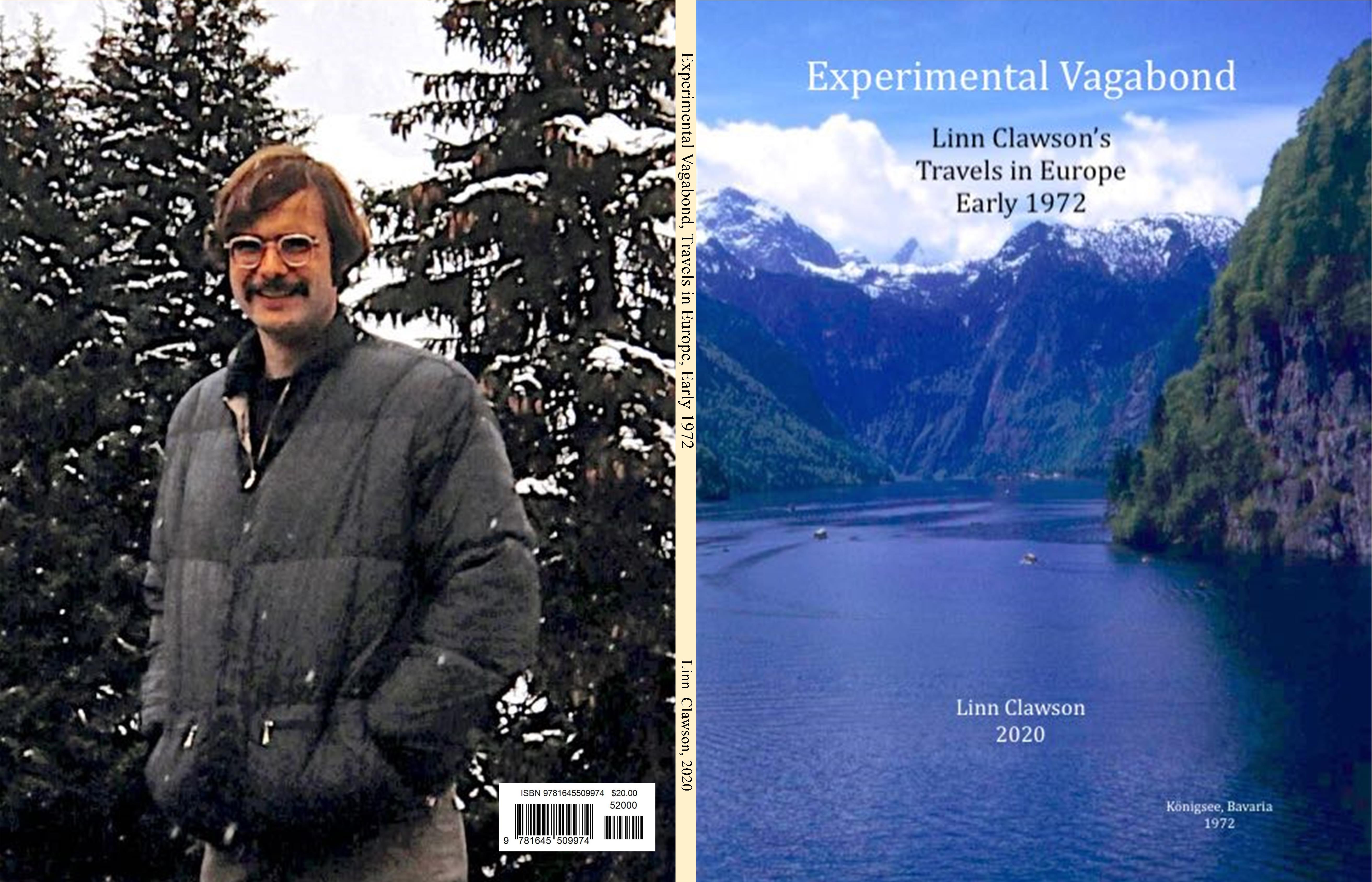 Experimental Vagabond, Travels in Europe, Early 1972 cover image