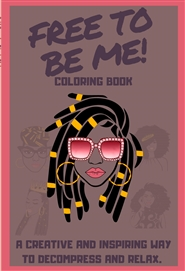 Mindfulness Coloring for Black Girls (locs) cover image