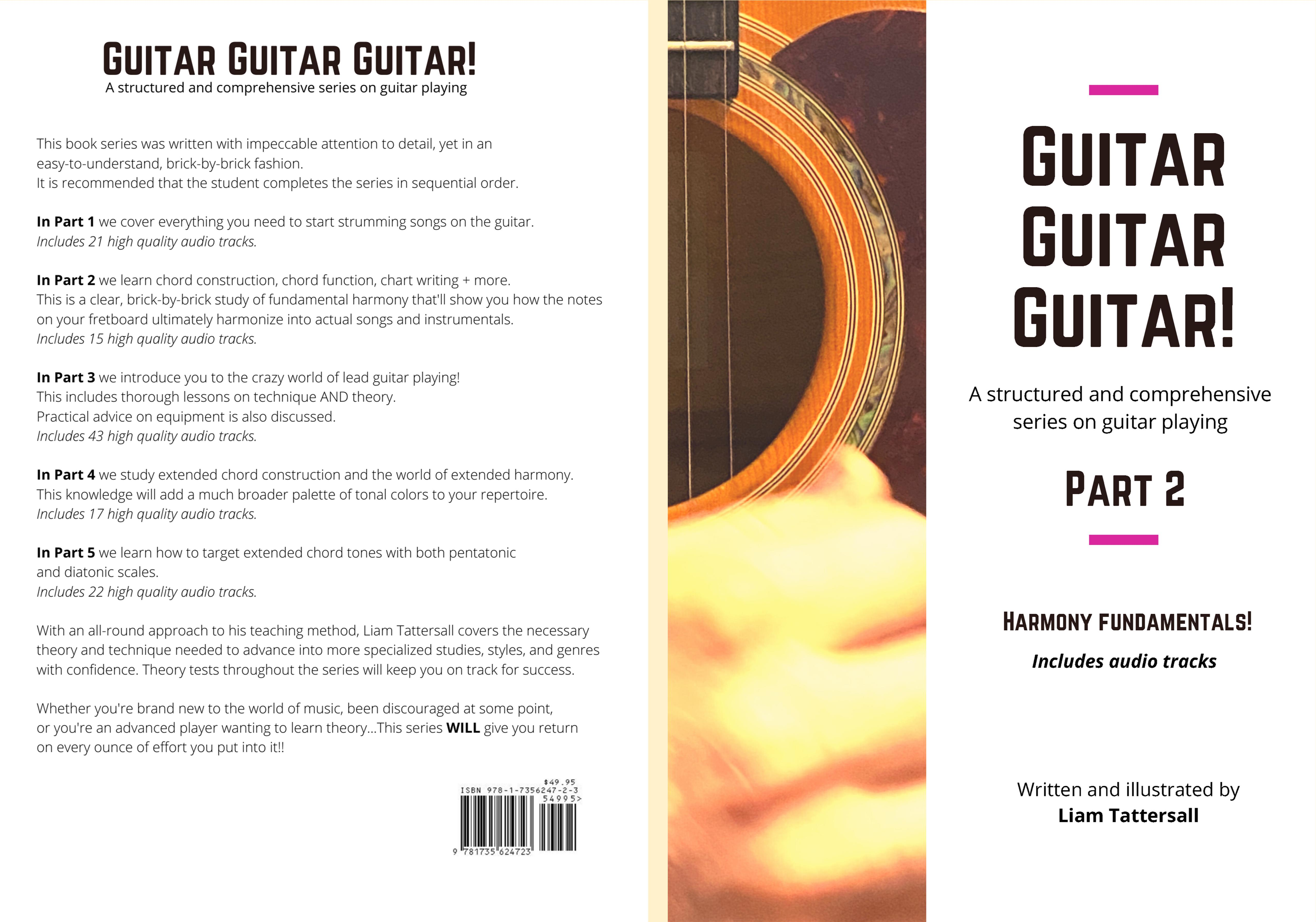 Guitar Guitar Guitar! A structured and comprehensive series on guitar playing - Part 2 - Harmony Fundamentals! cover image