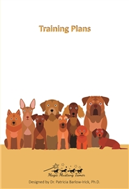 Training Plan Dot Journal for Dogs cover image