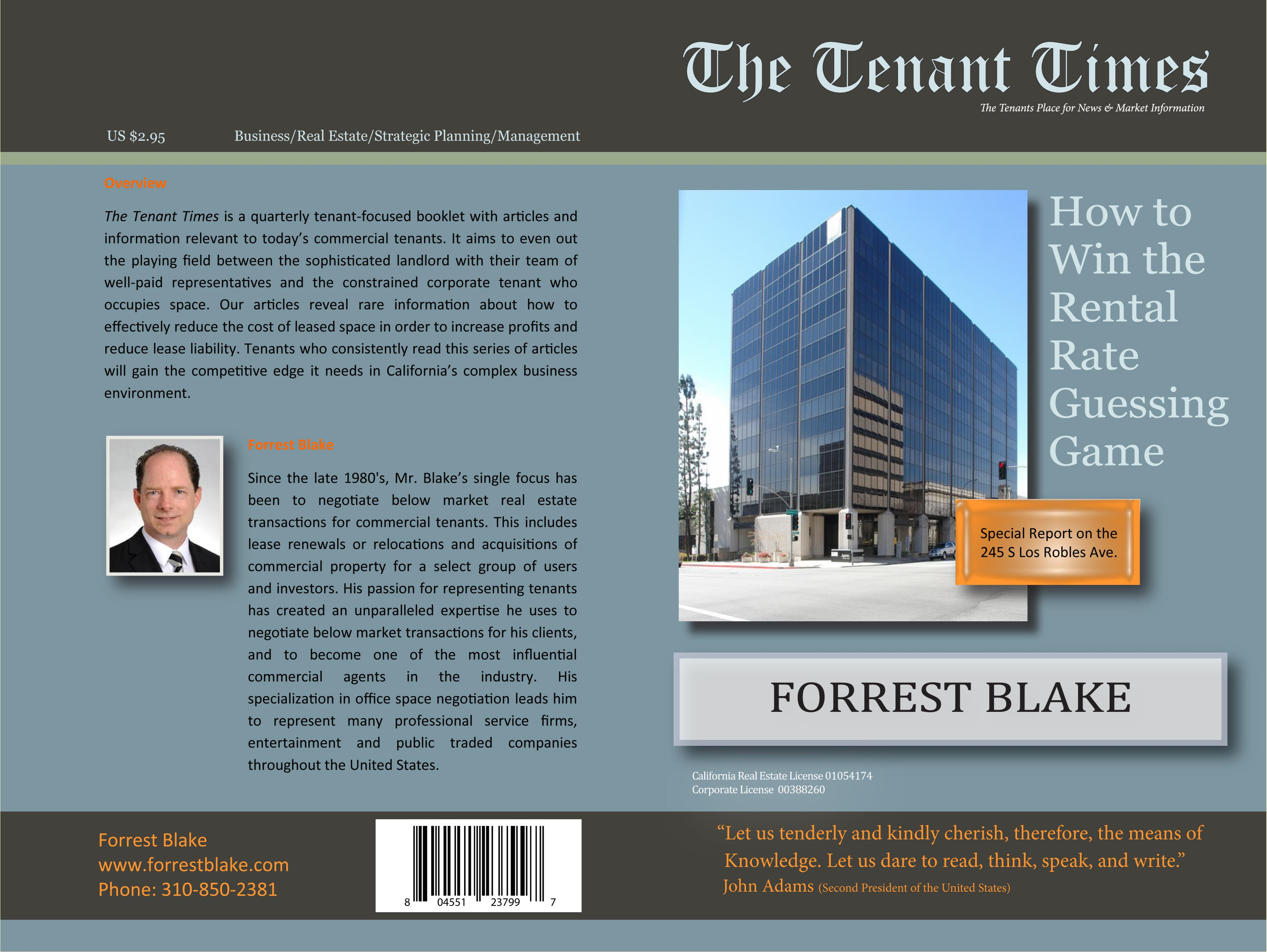2Q Tenant Times 245 S Los Robles cover image