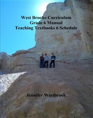 West Brooke Curriculum Grade 6 Manual Teaching Textbooks 6 Schedule cover image