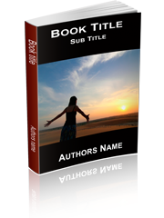 Perfect bound book template image