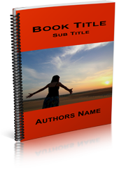 Spiral bound book template image