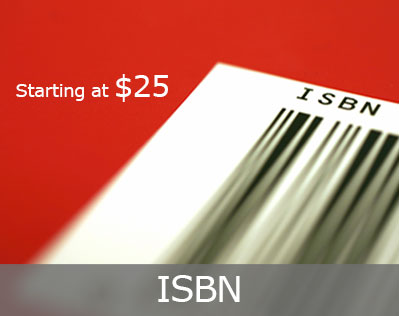 ISBN button