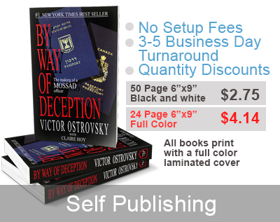 print on demand & self-publishing for $2.75 a book at thebookpatch.com