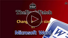 Change page size and margins in Microsoft Word video tutorial